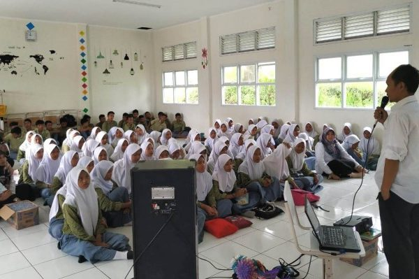Siapkan Generasi Unggul, DPK Banten Kampanyekan Budaya Baca Siswa